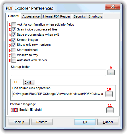 PDF Explorer Help